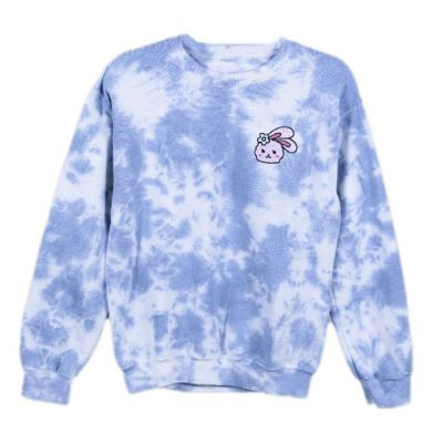 Azzyland Blue Tie Dye Sweater