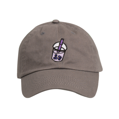 Azzyland Charcoal Bubble Tea Dad Hat