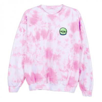 Azzyland Warren Pink Tie Dye Sweater