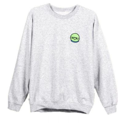 Azzyland Grey Crew Neck Sweater